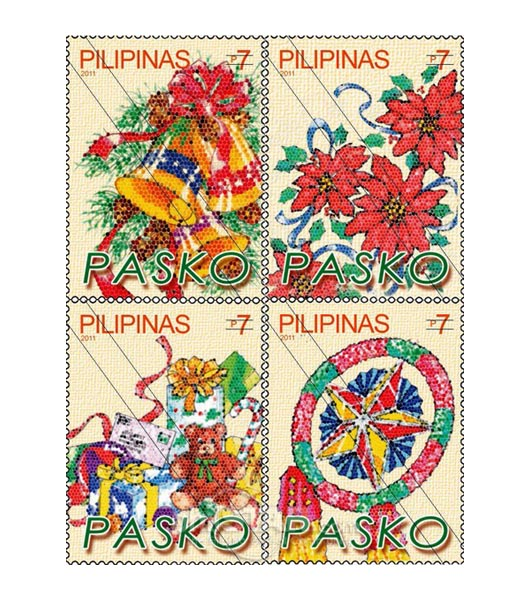 Philippines Christmas Stamps 2011