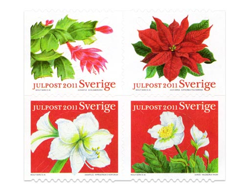Sweden Christmas Stamps 2011