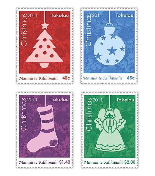 Tokelau Christmas Stamps 2011