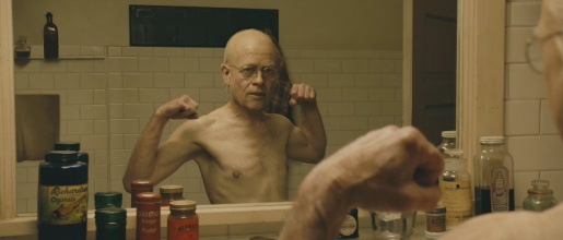 Benjamin Button in the mirror