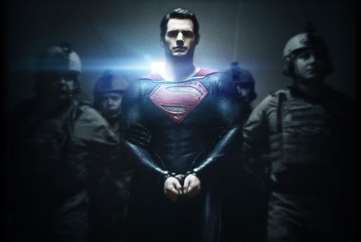 Man of Steel with Soldiers