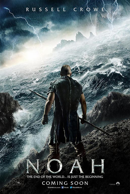Official Poster of Noah - Russell Crowe