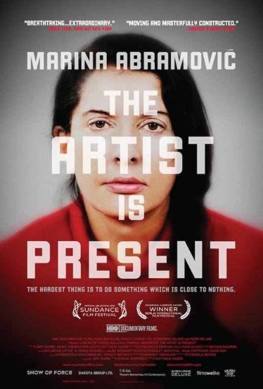The Artist is Present Poster