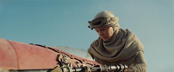 Star Wars The Force Awakens with Daisy Ridley