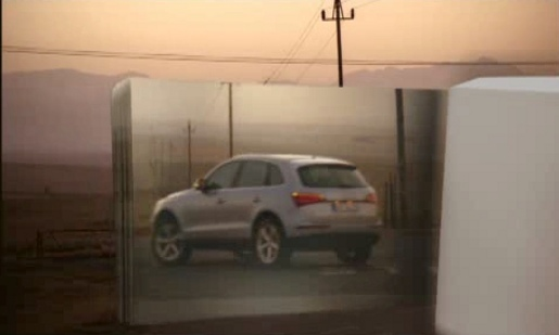 Audi Q5 heads out in South Africa dawn