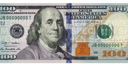 New Hundred Dollar Bill for United States
