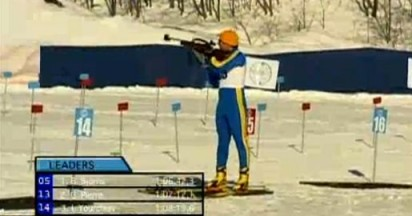 Biathlon Shooting at Winter Olympics