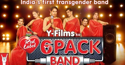 6 Pack Band advocates for transgender in India