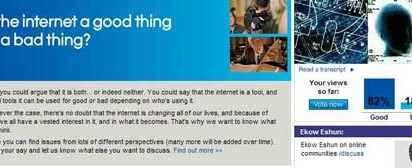 AOL Discuss Good and Bad Internet
