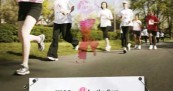 Women Run for the Cure in Canada