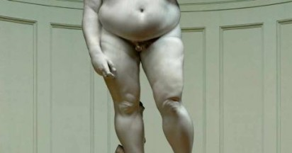 German Olympics Campaign for Moving Fat Statues