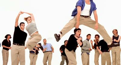 Gap Khakis In Swing Dance