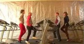 OK Go Treadmill – Here It Goes Again