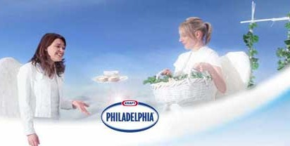 Philadelphia Angels Eat Cream Cheese