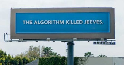 Ask.com Algorithm Billboards
