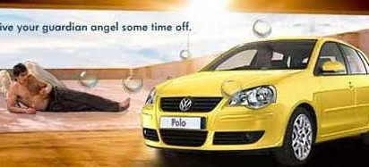 Volkswagen Angel's Day Off in Rio