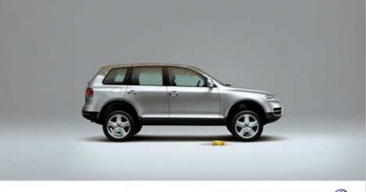 VW Touareg Spot the Clues