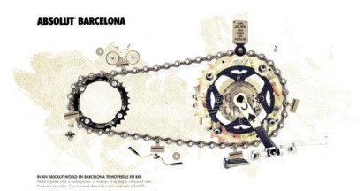 Absolut World of Barcelona Bicycles