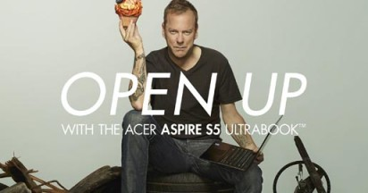 Jack Bauer makes cupcakes in Acer Aspire Campaign