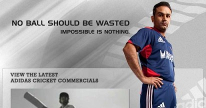 Adidas Cricket in India Impossible is Nothing
