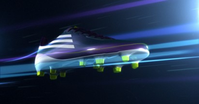F50 Adizero in action