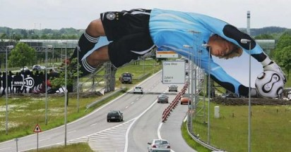 Oliver Kahn Arches Bridge for Adidas