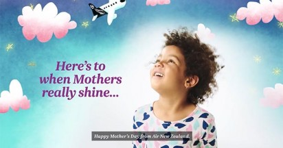 Happy Mothers Day from Air New Zealand