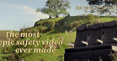 Air New Zealand Hobbits Are Back