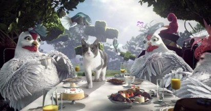 Friskies Plus Alice The Cat