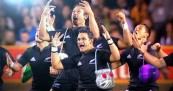 All Blacks Haka Hand Bagged for Bledisloe Cup