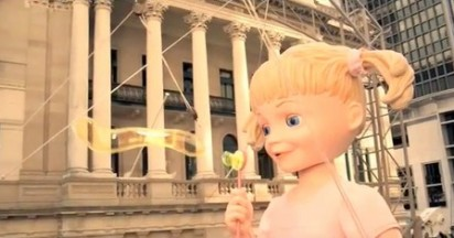 Allen's Lollies Bring Smiles with Doll