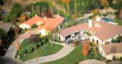 Allstate Multiples TiltShift Miniature Scenes