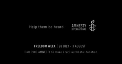 Amnesty International in the Dark