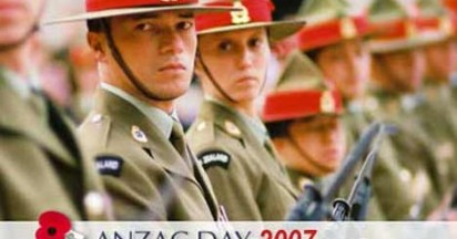 ANZAC Day Honoured in New Zealand