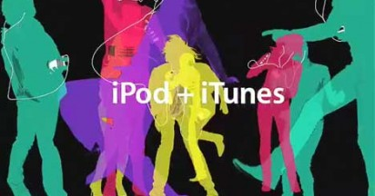 Apple iPod Color Flathead Party with The Fratellis