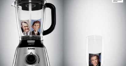 Arno Blender Mixes Presidents Perfectly