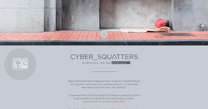 Auckland City Mission Cyber Squatting