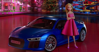 Audi Doll that chose to drive