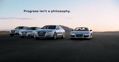 Audi Footsteps of Evolution
