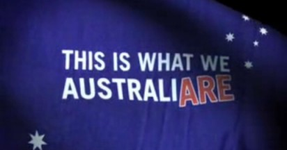 This is what we Australi-Are