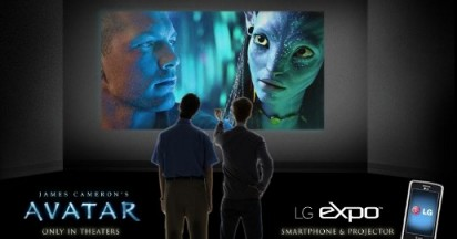Avatar Tie Ins for LG Phones