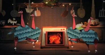 BBC Two Christmas Idents