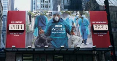 BBC World Channel Billboards