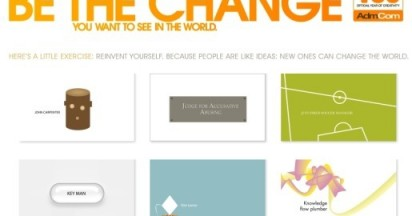 Be the Change in Year of Creativity