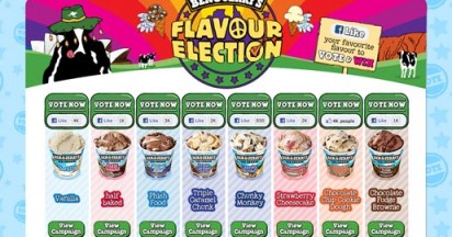 Ben & Jerry's Flavour Election