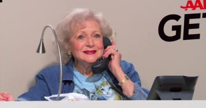 Betty White Get Over It on AARP