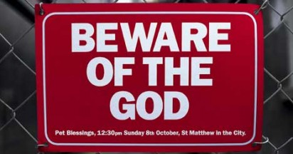 Beware of the God in Auckland