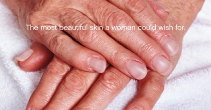 The most beautiful skin a woman could wish for