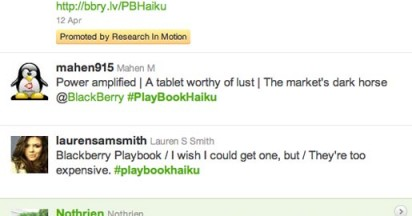 Blackberry PlayBook Haikus