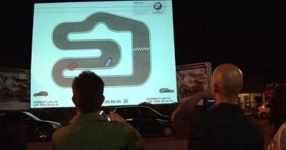 BMW  Interactive Video Projections